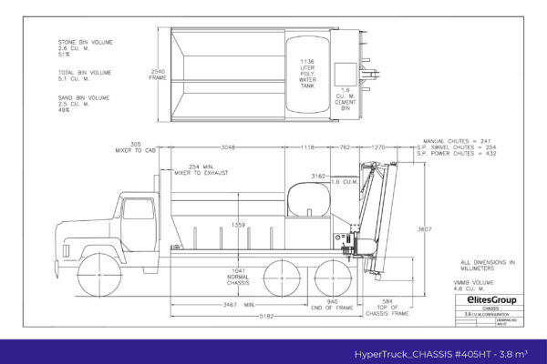HyperTruck Chassis Series-405HT