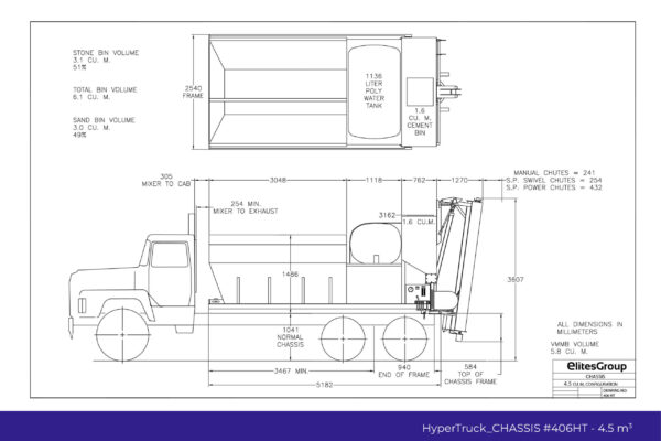 HyperTruck Chassis Series-406HT