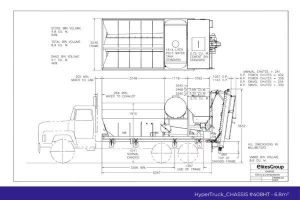 HyperTruck Chassis Series-408HT