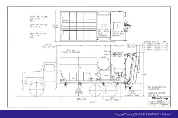 HyperTruck Chassis Series-410HT